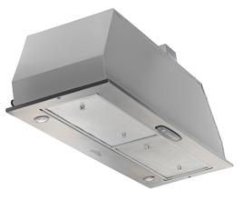 هود مخفی آروما مدل D1021 استیل