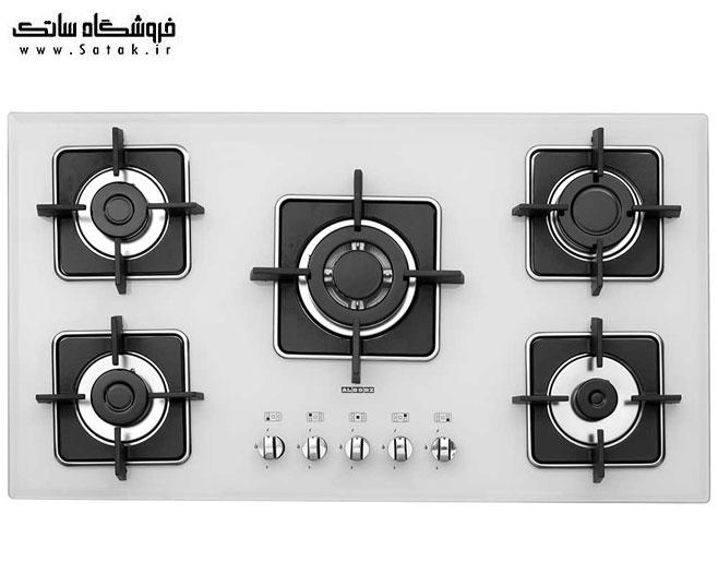 گاز صفحه ای استیل البرز G5960w