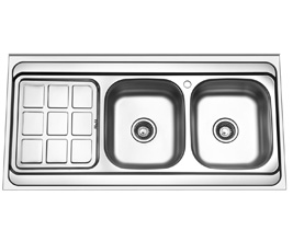 سینک روکار آروما مدل 2117 استیل