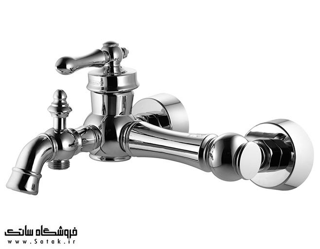 شیر حمام درخشان مدل آکوا