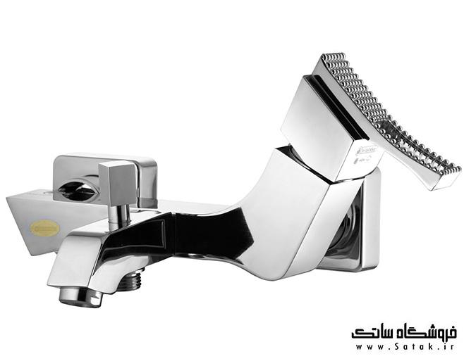 شیر حمام درخشان مدل پرنس