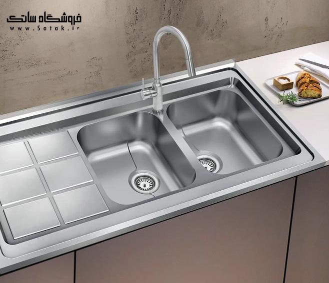 سینک ظرفشویی 9032 روکار کن