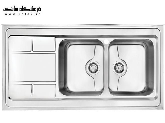 سینک ظرفشویی 9052 روکار کن