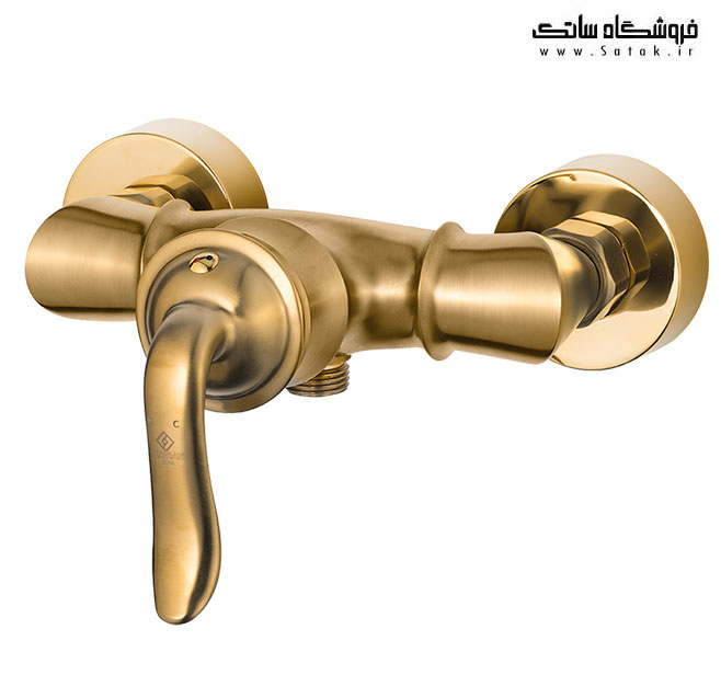 شیر توالت طلا مات دیبا کاویان