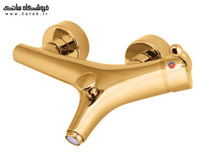 شیر دوش حمام شایان مدل باران طلایی