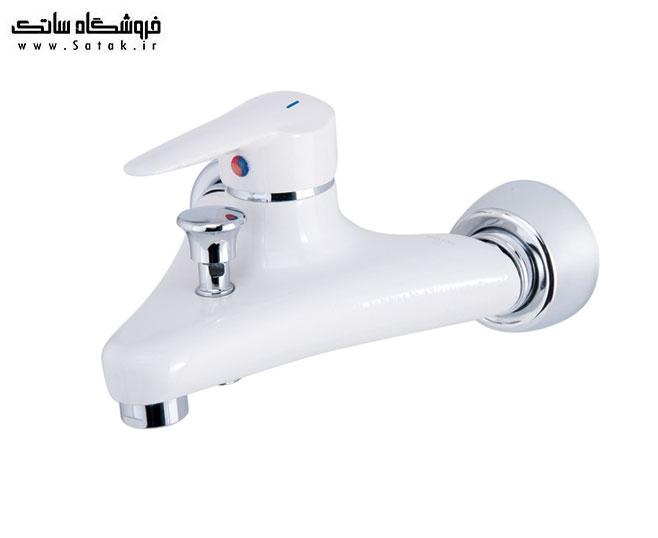 شیر دوش حمام شیبا سفید