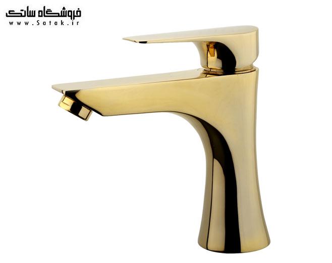 شیر روشویی اوج مدل دنیل طلایی