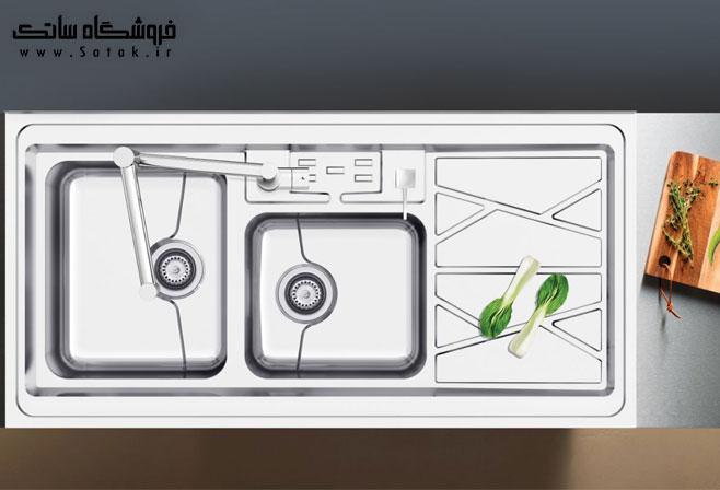 سینک ظرفشویی کن مدل 9041 روکار