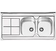 سینک ایلیا استیل مدل 1041 روکار
