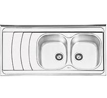 سینک ایلیا استیل مدل 1044 روکار