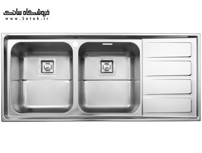 سینک استیل البرز مدل 764 توکار
