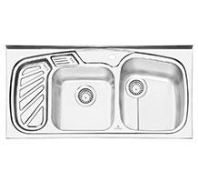 سینک پرنیان استیل مدل 1105