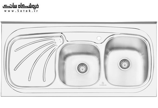 سینک پرنیان استیل مدل 1107