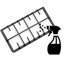 3 روش کاربردی جرم گیری چدن اجاق گاز
