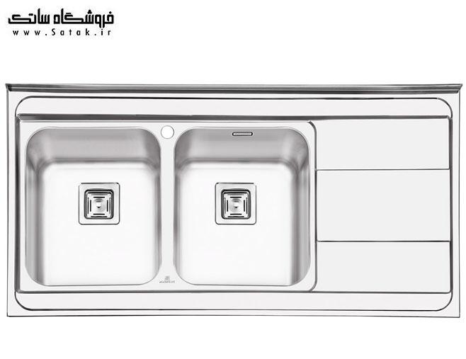 سینک ظرفشویی پرنیان استیل ps1115