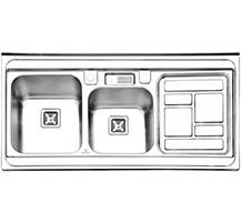 سینک پرنیان استیل PS 1111 روکار - 1